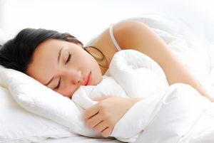 сон должен быть на низкой подушке
