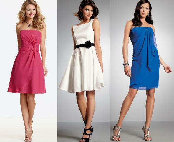 Шикарно короткие платья для выпускного бала