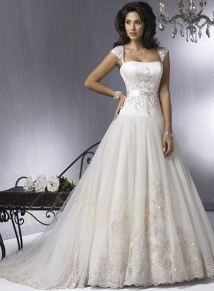Выбираем белое свадебное платье