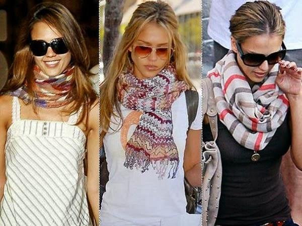 Как правильно выбрать шарф
