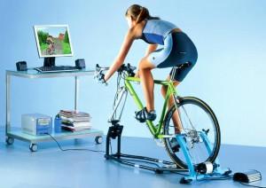 Похудение с помощью велотренажера