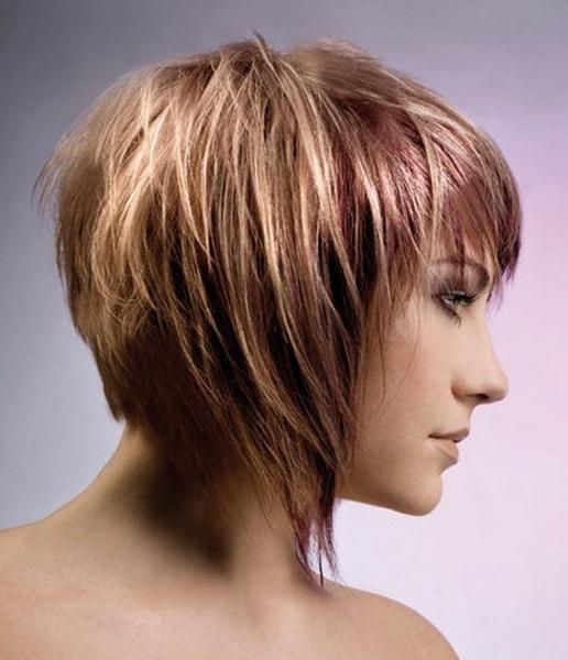 Удлиненные волосы