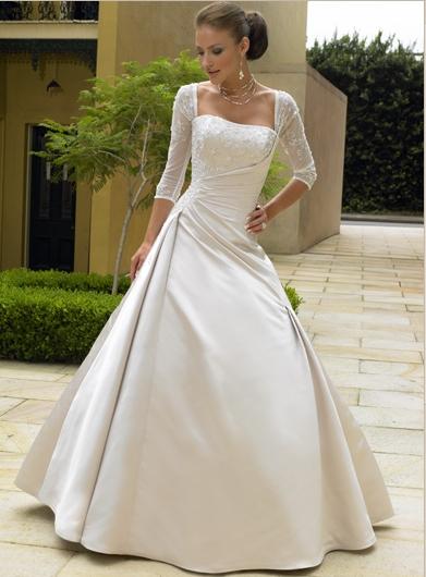Красивый образ невесты
