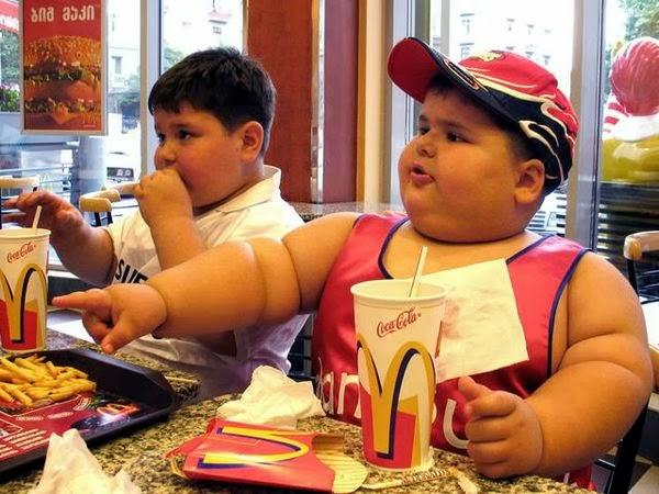 Ожирение детей