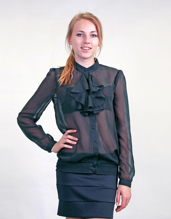 Купить летнюю шифоновую блузку