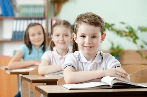 Дети в начальной школе