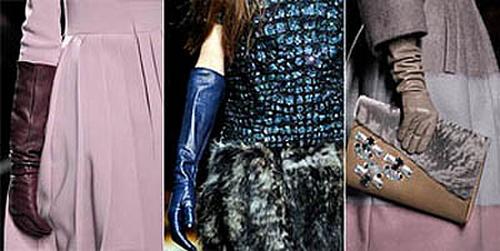 Мода на длинные перчатки