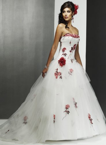 Свадебные платья с вышивкой