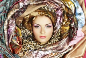 Женский шарф для летнего периода