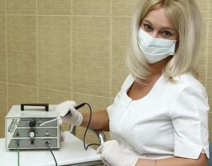 Лечения эрозии шейки матки - терапия радиоволнами