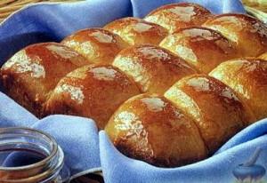 Быстрые медовые булочки рецепт