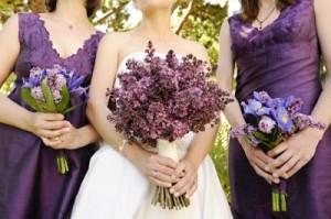 Ежевичный образ невесты